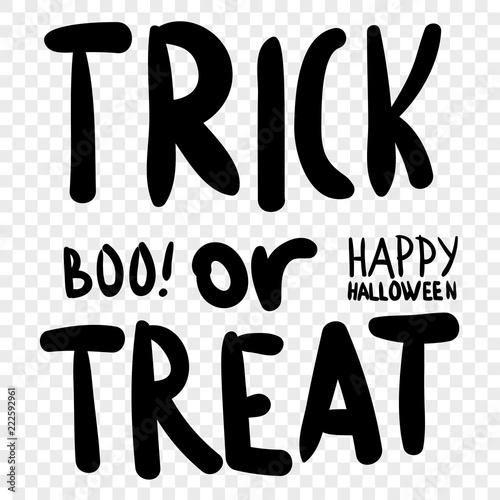 trick or treat halloween digital stamp laser cutting templates