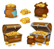 Casino And Game Cartoon 3d Mon...