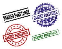 BANNED SUBSTANCE Seal Prints W...