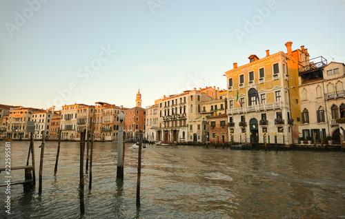 Fényképezés la meravigliosa Venezia sul Canal Grande