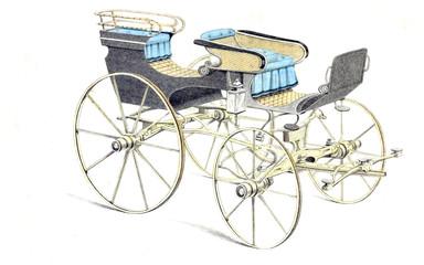 Fototapeta na wymiar Vintage carriage
