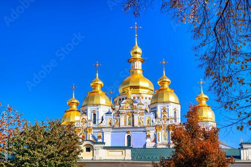 Foto op Plexiglas Kiev Saint Michael's Golden-Domed Monastery in Kiev, Ukraine