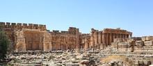 The Roman Ruins In Baalbek, Le...