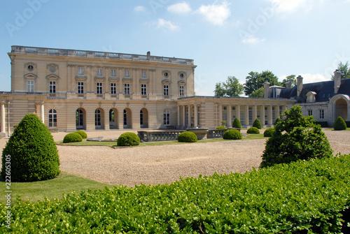Fotografering Ville de Vernon, Château de Bizy, département de l'Eure, Normandie, France