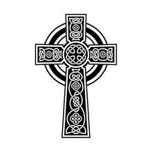 Cross Celtic Vector, Ornament