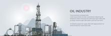 Oilfield Banner, Drilling Oil ...
