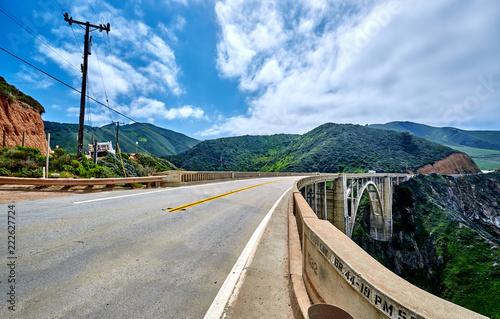 Foto op Plexiglas Verenigde Staten Bixby Creek Bridge on Highway 1, California