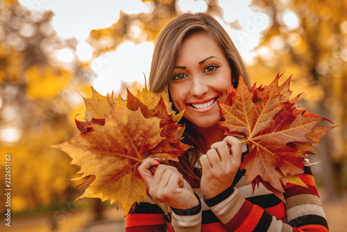 fototapeta na drzwi i meble Autumn Beauty