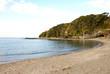 荒井浜海水浴場 神奈川県三浦市三崎町小網代の風景