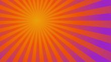 Sunburst Ray Vector Gradient Color Background - Halloween Theme