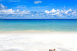 Seychelles Beach with white Sand and blue water