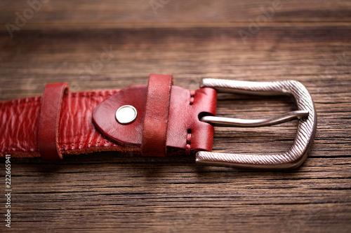 Valokuva Girdle of red leather