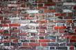 Rote Ziegelwand, Hintergrundgrafik, Konzept