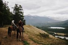 Horseback Riding In The Mounta...