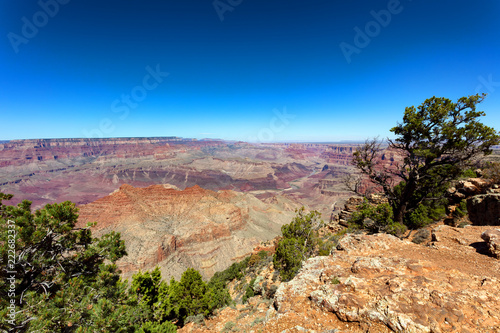 Tuinposter Verenigde Staten Wide view of the Grand Canyon South Rim in Arizona