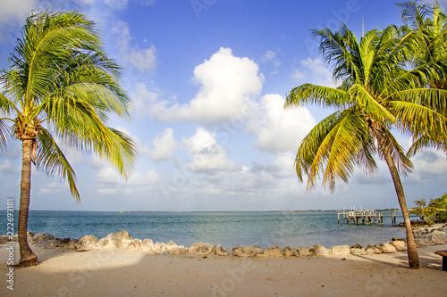 Key Colony Beach View Fototapet