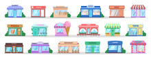 Store Building Set. Collection...