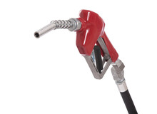 Gasoline Pump Nozzle With Red ...
