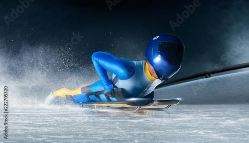 Fotografia skeleton sport