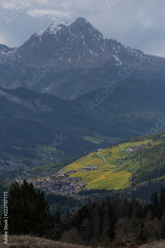 Foto op Aluminium Nachtblauw Dolomites Italy, nature and landscape