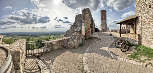 Checiny Royal Castle near Kielce -  Poland