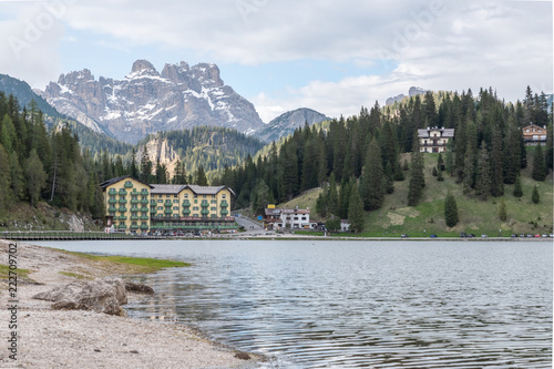Foto op Canvas Khaki Dolomites Italy, nature and landscape
