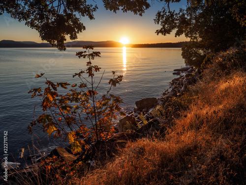 Fotografiet  Patricia Bay sunset