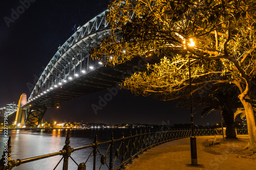 Poster Oceanië Harbour bridge, Sydney, Australie