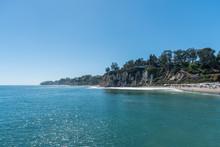 Beautiful Summer Day At The Paradise Cove, Malibu, California