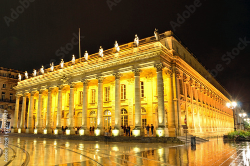 Foto op Plexiglas Theater Grand Theater in Bordeaux,France