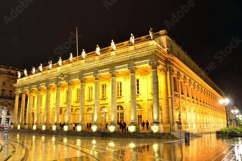 In de dag Theater Grand Theater in Bordeaux,France