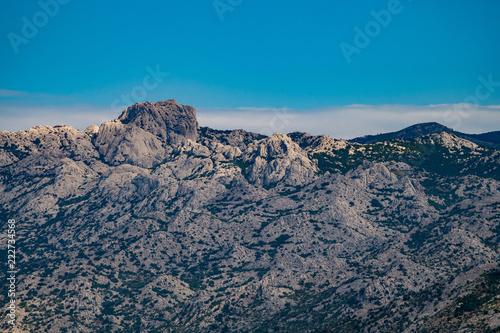 Fotografie, Obraz  Extreme mountains in Paklenica National Park, Velebit, Croatia