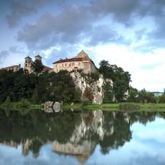 Fototapeta na wymiar klasztor Benedyktynów w Tyńcu