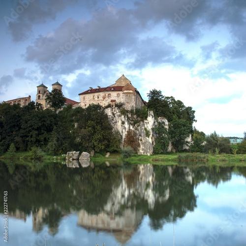 Plakat klasztor Benedyktynów w Tyńcu