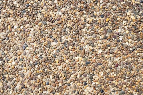 In de dag Stenen Sea stone floor texture background