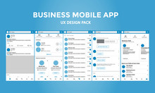 Business Mobile App - UX Desig...