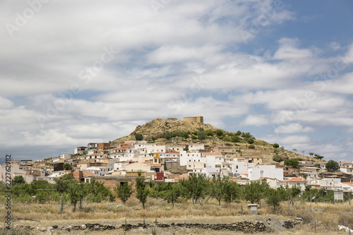 Fotografie, Obraz  a view of Dolar town, province of Granada, Andalusia, Spain
