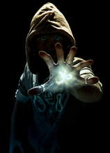 Magic Spell's Wizard With Six Fingers, Photo Manipulation
