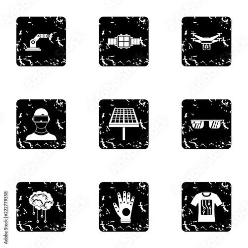Fotografiet  Innovative device icons set