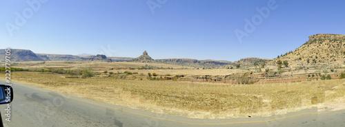 Garden Poster The landscape of Lesotho - Maseru