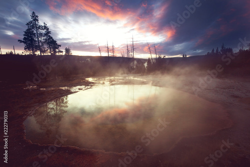 Morning Glory Pool