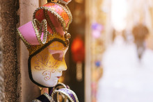 Traditional Venetian Mask In S...