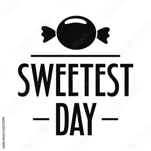 Fotografie, Obraz  Bonbon candy sweet logo