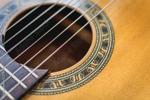Fotografiet  Spanish Guitar and Strings