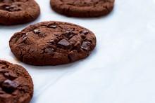 Close Up Picture Of Dark Choco...