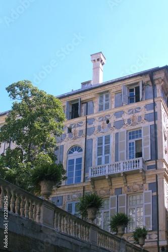 Fotografie, Obraz  Side view of Palazzo Doria Tursi one of the UNESCO world heritage palaces in Gen