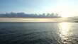 Sea landscape. Slow motion.