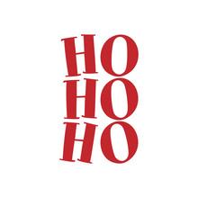 Hohoho - Santa's Calligraphy P...