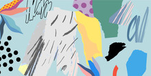 Creative Art Background. Abstr...