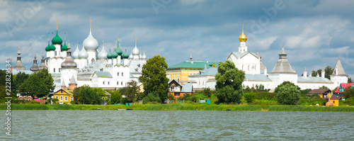 In de dag Europa rostov kremlin from water